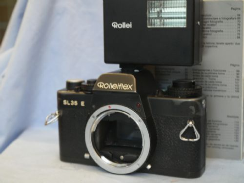 ' NICE SET ' Rolleiflex SL35E Vintage SLR Camera + Flash + Inst £39.99